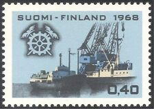 Finland 1968 Chamber of Commerce/Ships/Cranes/Docks/Nautical/Transport 1v n23802