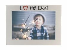 I Love My Dad Photo Picture Frame Father's Day Birthday Christmas Gift For Daddy