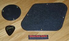 Gibson Les Paul Plate Set Cavity Control Textured Standard Cover Guitar Parts T