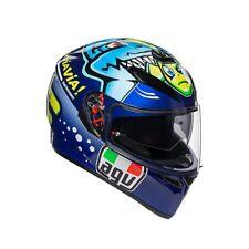 Agv 210301a0ey-018 Casco Integrale K3 K-3 SV Top Rossi Misano 2015 ml