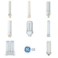 GE 2 / 4 Pin Biax S D T S/E D/E T/E L Compact Fluorescent Lamps