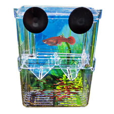 Plastic Fish Breeding Isolation Protective Box Tank Aquarium Fry Fish Hatcheries