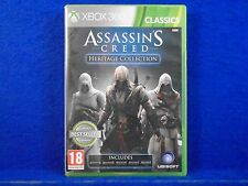 xbox 360 ASSASSINS CREED Heritage Collection Action Adventure PAL UK REGION FREE