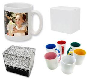 Colored Photo Mug Self Build * 330ml * Own Photo Logo Motif Text