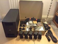 bose lifestyle v30 home theatre system fully working
