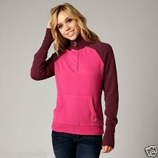 $59 Fox Racing Girls Utilize Pull Over Sweater – Pink/Merlot sz L