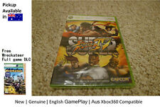 xbox One xbox 360 game :BRAND NEW Super Street Fighter IV FREE Wreckateer game