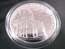2018 1 oz Tower Bridge Landmark of Britain silver coin 2 pound Britannia