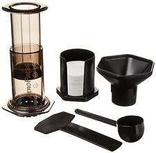 New In Box Aerobie AeroPress 4 Cups Coffee & Espresso Combo - Gray New