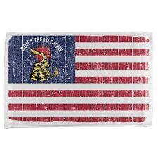 American Gadsden Flag Distressed All Over Sport Towel
