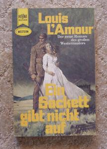 """Western-TB, Louis L'Amour:""""Ein Sackett gibt nicht auf"""", DIE SACKETTS, Heyne 2428"""