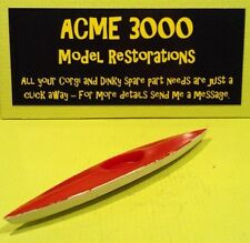 Corgi GS10 Conjunto de Regalo Marlin Rambler reproducción REPRO plástico rojo y blanco Kayak