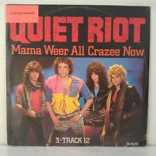 "Quiet Riot ‎– Mama Weer All Crazee Now (Vinyl, 12"", Maxi 33 Tours)"