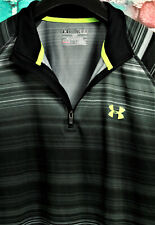 Under Armour Mens Heat Gear Loose Light weight 1/4 Zip Sweatshirt Size M, Medium