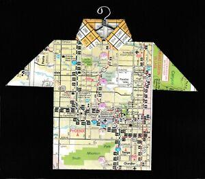 Origami Map Shirt Arizona, Phoenix, Tempe, Chandler, Sun Devil Stadium, ASU