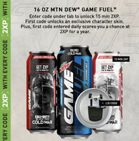 🔥OOP ITEM Call of Duty Black Ops Cold War Exclusive GAMEFUEL PROMO Op Skin 2XP