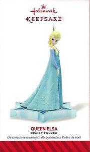 Hallmark Keepsake Ornament Disney Frozen Queen Elsa NIP 2014