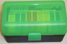 MTM Case Gard™ New MTM Plastic Ammo Box 50 Rd RS-50-16T Rifle 223 204 17 GRN/Blk