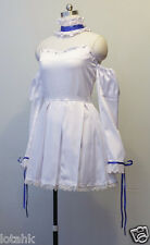 Chii Cosplay Costume Custom Made WHITE DRESS < Lotahk >