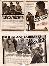 THE BLACK PIRATE,Douglas Fairbanks,Herald,1926