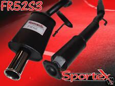 Sportex Renault Clio 172 2.0 performance exhaust system