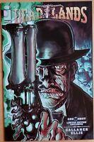 DEADLANDS: THE DEVIL'S SIX GUN #1 - N.E.C.R.A.Exclusive Variant Cover - Image