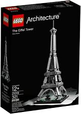 NEW LEGO ARCHITECTURE EIFFEL TOWER 21019. DISCONTINUED. FREE DELIVERY