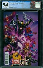 All- New Marvel Now! Point One 1 CGC 9.4 - White Pages - Variant Edition