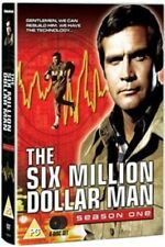 6 SIX MILLION DOLLAR MAN Complete Series 1 DVD First Season UK RELEASE NEW R2
