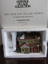 Dept 56 New England Village - Bluebird Seed And Bulb 356421 New