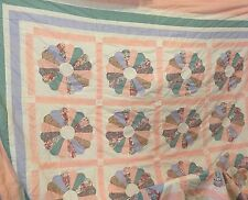 "Handmade Finished Quilt Ready for Batting 87"" x 85"""