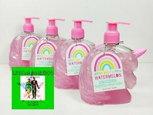 4X) Making Magic Happen COTTON CANDY🦄 Unicorn hand soap 10oz Paraban Free 🦄
