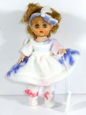 """DRESSED VINTAGE 1950'S VIRGA DOLL 8"""" FRIEND OF GINNY IN WINTER OUTFIT"""