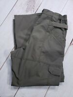 "5.11 Tactical Series Pants Men 34 Inseam 28"" Cargo 74273 TAC-143 Greenish Brown"