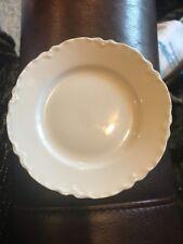 """Vtg HAVILAND White RANSON China Butter Bread Plate 5"""" in diameter"""