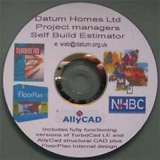 Self Build estimating software + CAD+Floorplan design