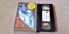 Basic Instinct GUILD UK PAL VHS VIDEO 1997 Sharon Stone Michael Douglas