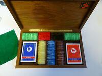 Fisches Poker Carte da Gioco Dal Negro Set fiches poker - Scatola legno pregiato