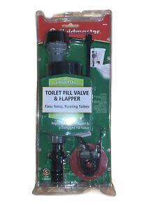 Fluidmaster 400CR Universal Toilet Fill Valve and Flapper Repair Kit Free Ship