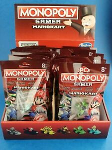 Hasbro MONOPOLY GAMER MARIO KART Power Pack (NOT UK VERSION!) /Choose Character!