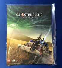 LEGO Ghostbusters ECTO-1 10274 LEGO VIP Afterlife Movie Poster 2020