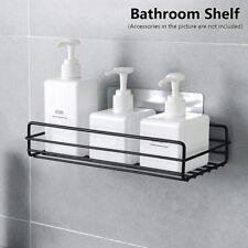 Gel Adhesive Wall Mounted Storage Rack Organizer Shampoo Holder Bathroom Shelf