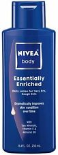Nivea Body Daily Lotion, Essentially Enriched for Very Dry, Rough Skin, 8.4 fl o