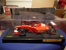 Hot Wheels Racing Michael Schumacher FERRARI F1 2000 World Champion 1:18 Scale