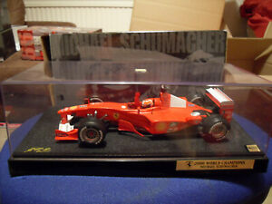 Hot Wheels Racing Michael Schumacher FERRARI F1 2000 World Champion 1:18 Scale