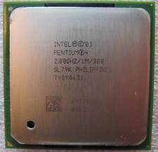 Intel Pentium 4, 478, 2,8 GHz, FSB 800, 1 MB L2, SL79K, 89 Watt, BX80546PG2800E