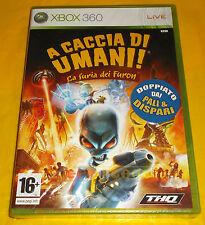 A CACCIA DI UMANI LA FURIA DEI FURON XBOX 360 Italiano 1ª Ed ○○○ NUOVO SIGILLATO