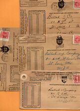 Canadian Pacific Express Canada 4 Old Covers Mailed