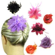 Hair Flowers Fashion Accessories Girls Head Pieces Clips Kids Fascinators UK