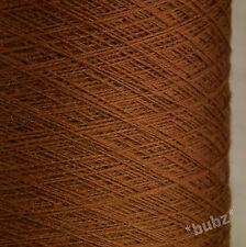 Italiano Pura Lana Merino 2/30s marrón castaño laceweight Hilo 1 De 2 Capas Linea Piu